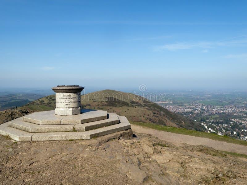 Worcestershire - szenische Malvern-Hügel lizenzfreie stockfotografie