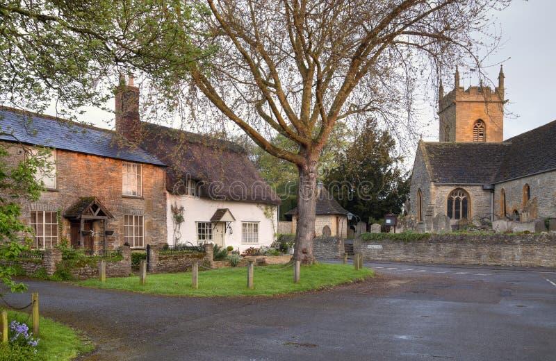 Worcestershire wioska fotografia royalty free