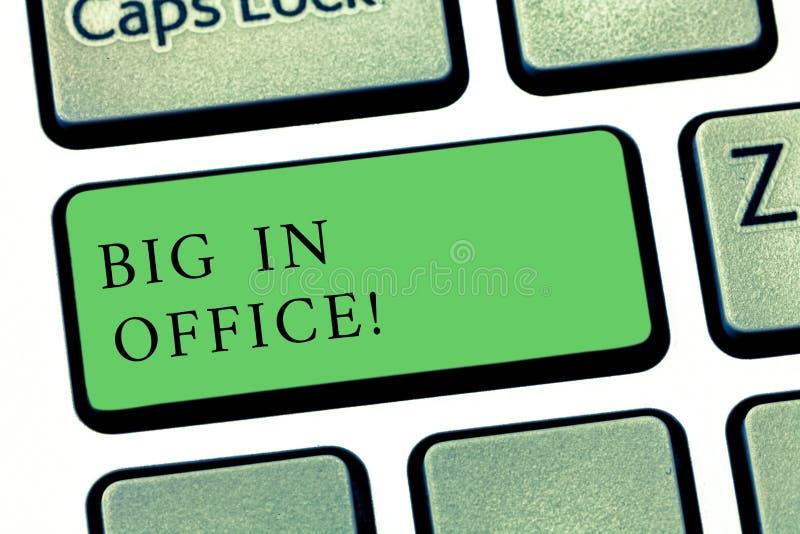 Word écrivant des personnes des textes dans le bureau Concept d'affaires pour la pièce ou partie de bâtiment où ils fonctionnent  photographie stock