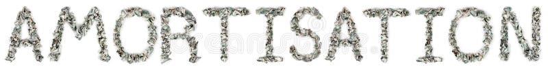 Download Amortisation - Crimped 100$ Bills Stock Image - Image: 29887021