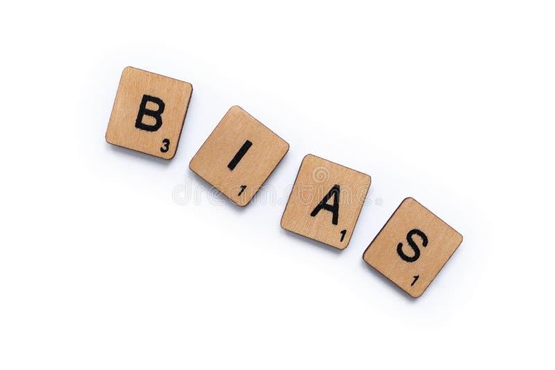 The word BIAS stock photos
