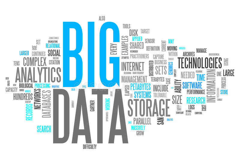 Word Cloud Big Data. Word Cloud with Big Data related tags