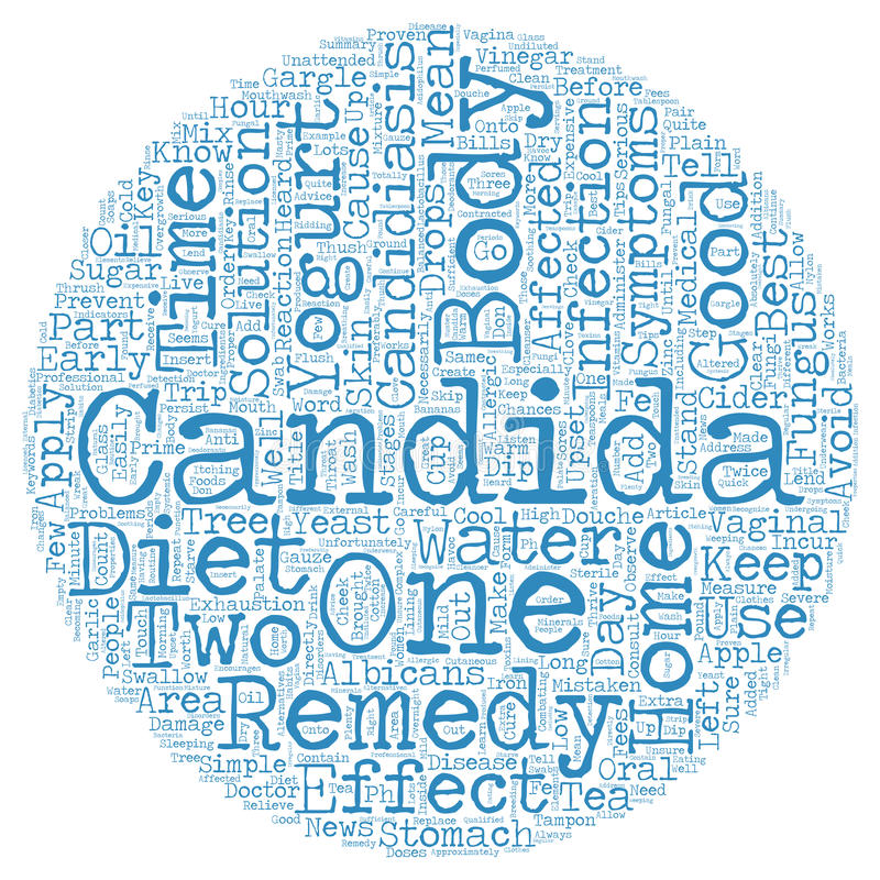 Word Cloud Text Background Concept. Candida Home Remedies Simple Yet Effective text background wordcloud concept royalty free stock photo