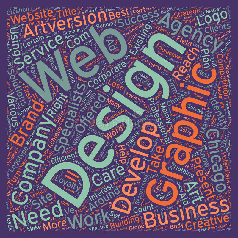 Word Cloud Text Background Concept. From graphic design to web development what your company needs text background wordcloud concept royalty free stock photo