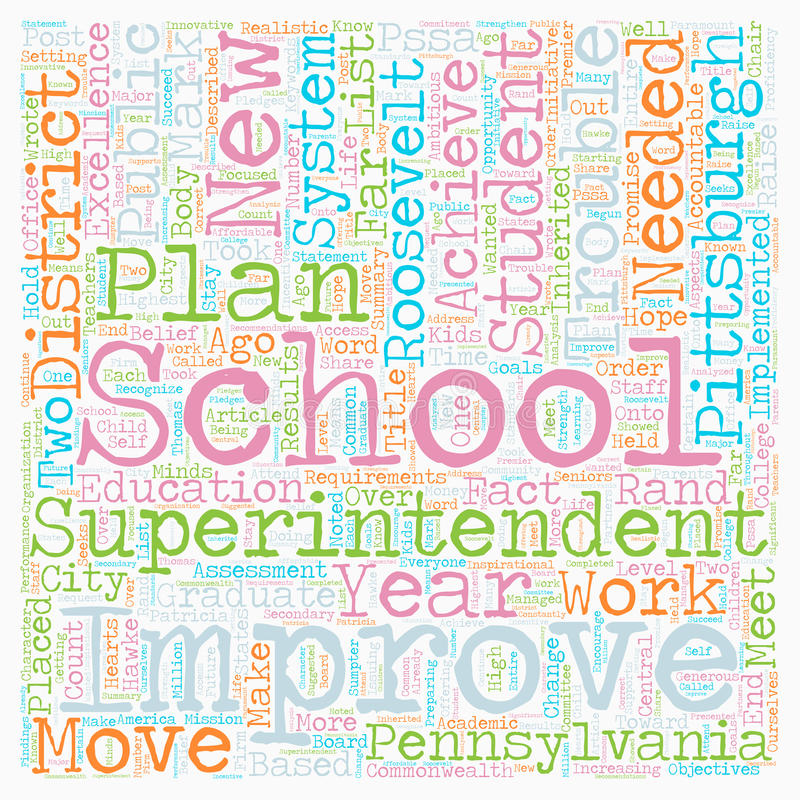 Word Cloud Text Background Concept. Are Pittsburgh Schools In Trouble text background wordcloud concept royalty free stock photography