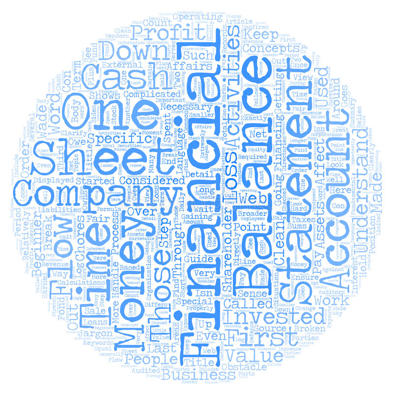 Word Cloud Text Background Concept. Why Financial Statements Are Important A Beginner s Guide text background wordcloud concept stock image