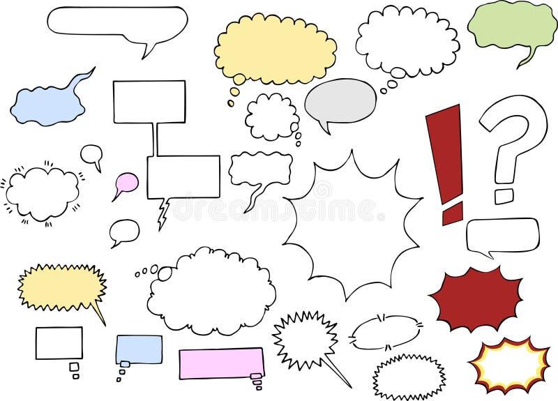Word Clouds III stock illustration