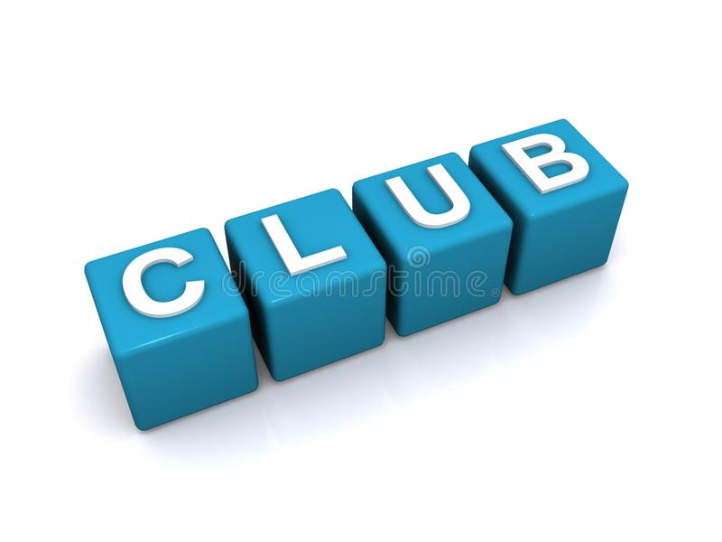 Club stock illustration