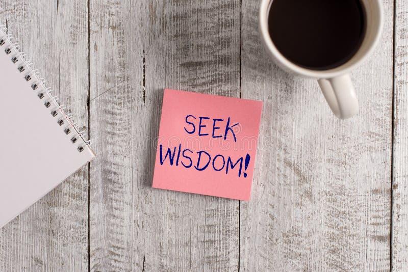 Word ?crivant la sagesse de recherche des textes Concept d'affaires pour que la capacit? pense l'acte utilisant la compr?hension  photos stock