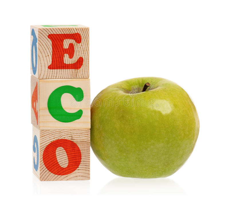 Word ECO royalty free stock image