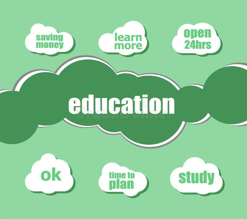 Education Integrated Thin Lines And Circles  Digital