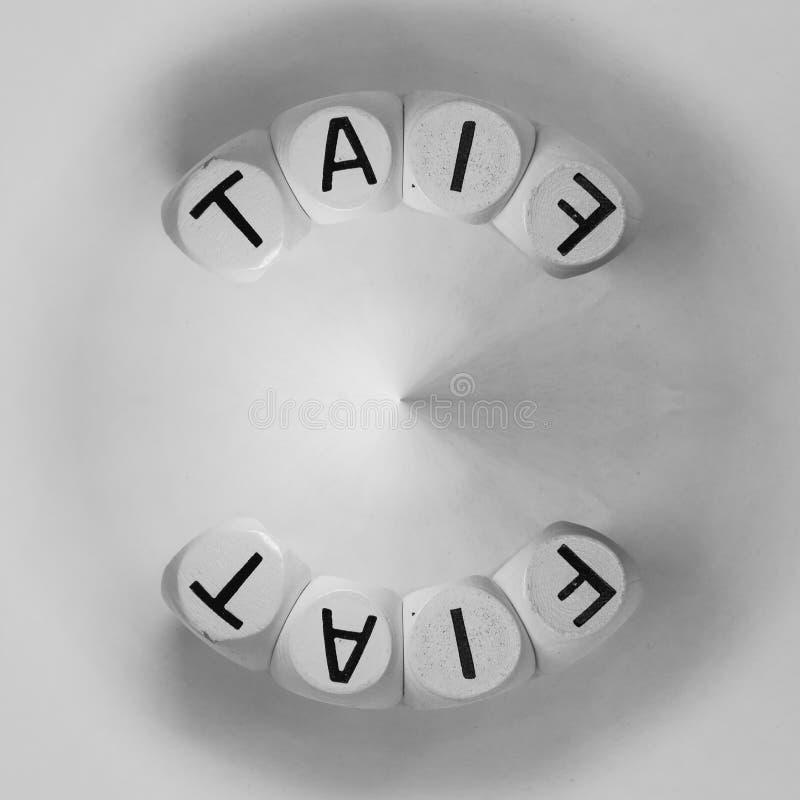 Word Fiat disposé en circulaire photos stock