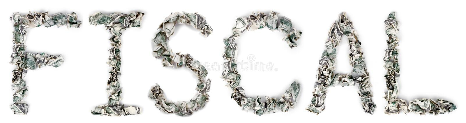 Download Fiscal - Crimped 100$ Bills Stock Image - Image: 29908281