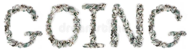 Going - Crimped 100$ Bills