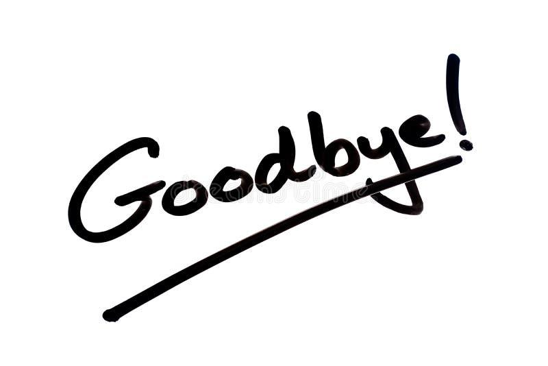 Goodbye stock illustration. Illustration of revoir, black - 167996758