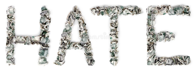 Hate - Crimped 100$ Bills