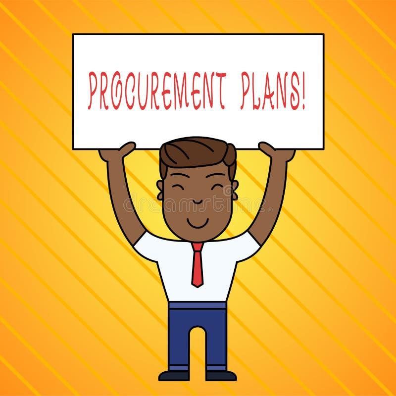 Word het schrijven de Plannen van de tekstverwerving Bedrijfsconcept voor het bepalen van de kalenders voor hun verwerving vector illustratie