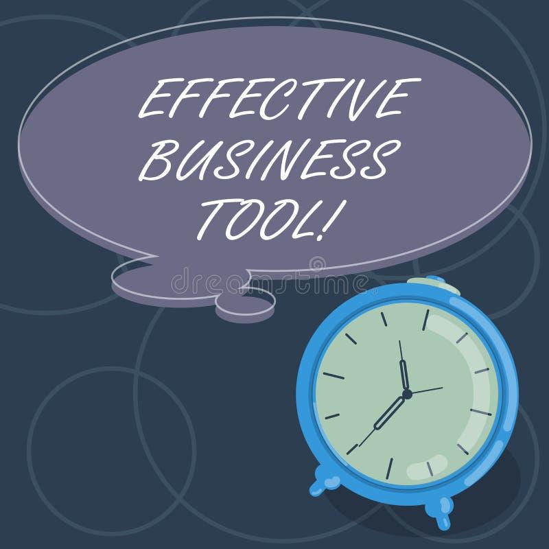 Word het schrijven tekst Efficiënt Zakelijk hulpmiddel Bedrijfsconcept voor gebruikt om bedrijfsprocessenspatie te controleren en royalty-vrije illustratie