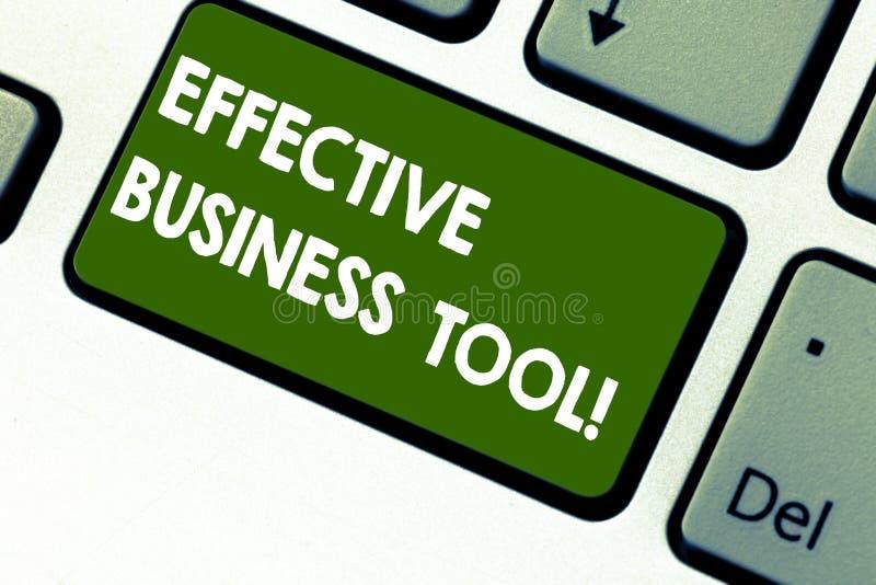 Word het schrijven tekst Efficiënt Zakelijk hulpmiddel Bedrijfsconcept voor gebruikt om bedrijfsprocessentoetsenbord te controler royalty-vrije illustratie