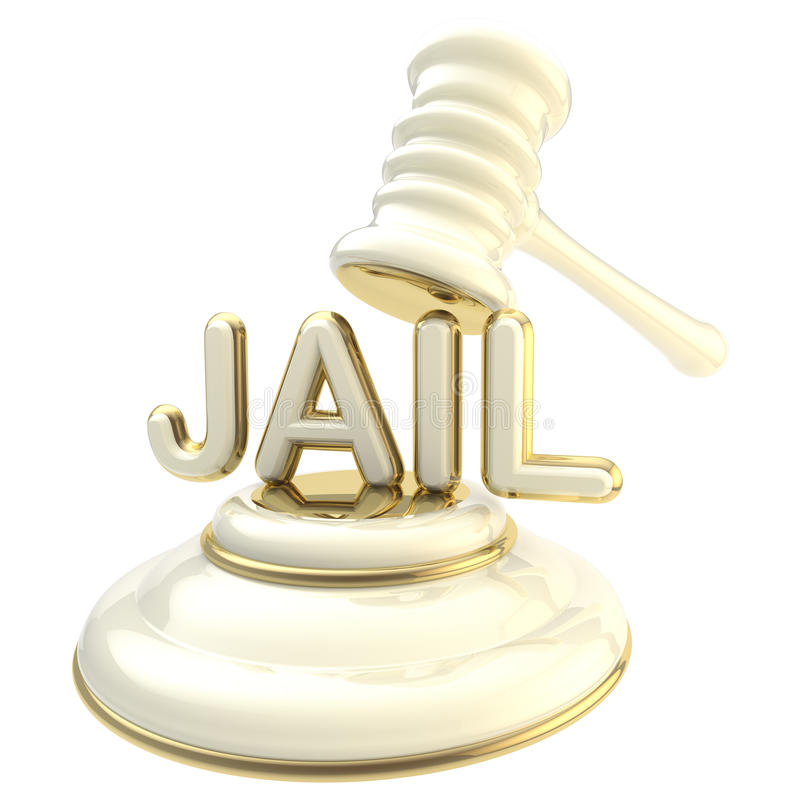 Word jail under judge s gavel
