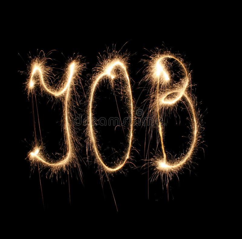 Download Word job written sparkler stock image. Image of activity - 8668741
