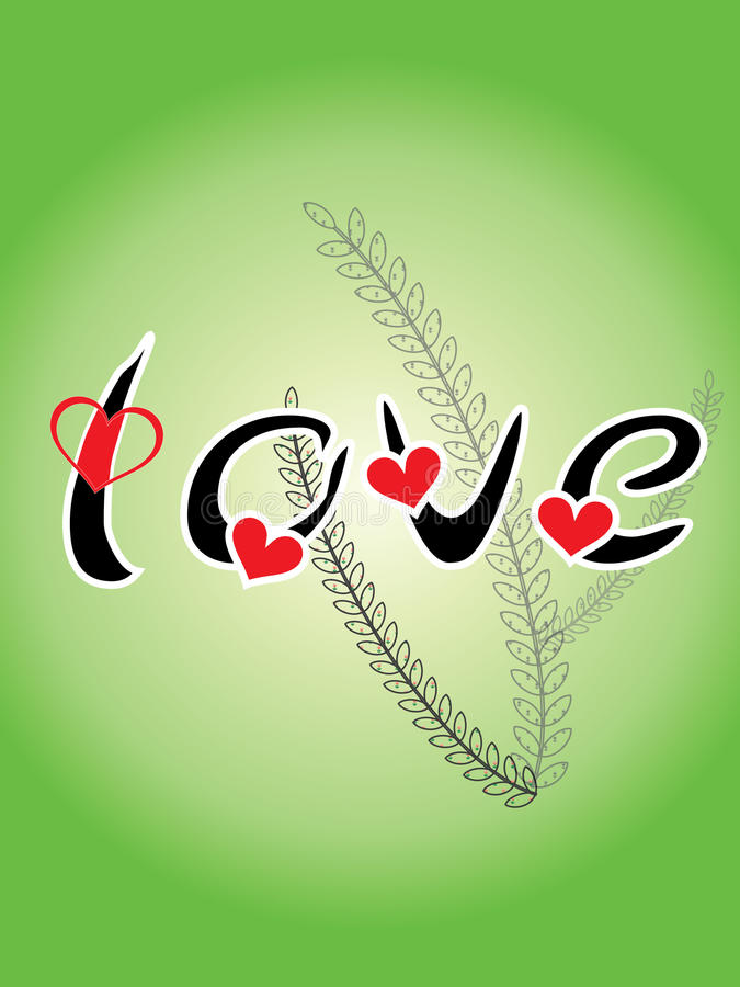 Download Word LOVE And Heartshaped Stock Photography - Image: 15913282