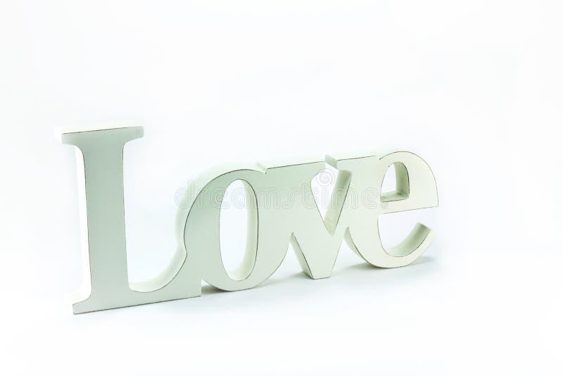 Word love written
