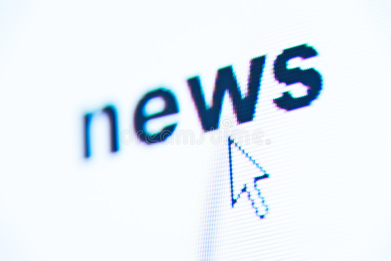 Word News Royalty Free Stock Photos