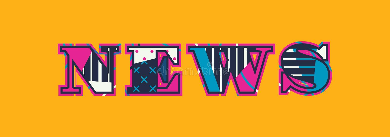 News Concept Word Art Illustration vector illustration
