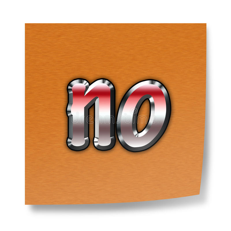 Download Word no stock illustration. Image of confirm, disagree - 27207363