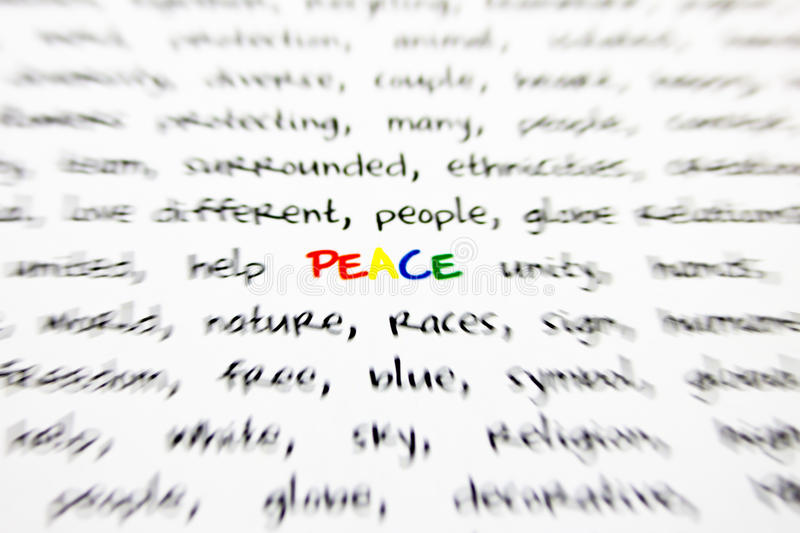 Download Word peace stock photo. Image of protect, sentence, abstract - 27227068