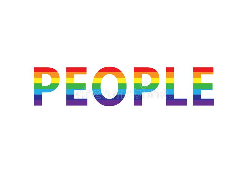 lgbt horizontal word vector gay rainbow effect background bisexual colors transgender lesbian pop simbol banner illustration halftone rays community isolated