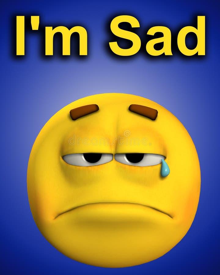 Word Of Sadness Royalty Free Stock Photos