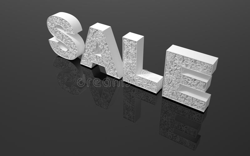Download The Word Sale& Quot; Is Made With White Form Stock Illustration - Image: 25646473