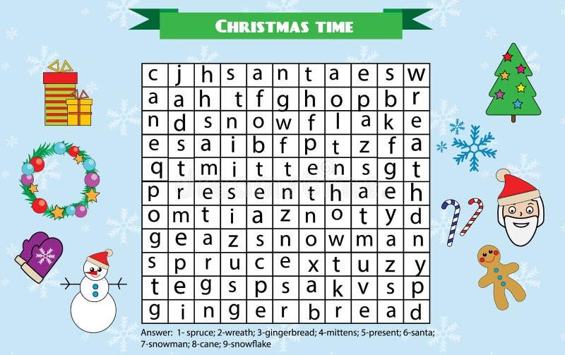 christmas theme words