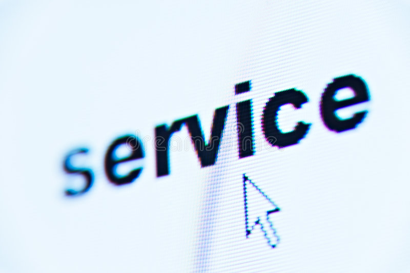 Word service stock image