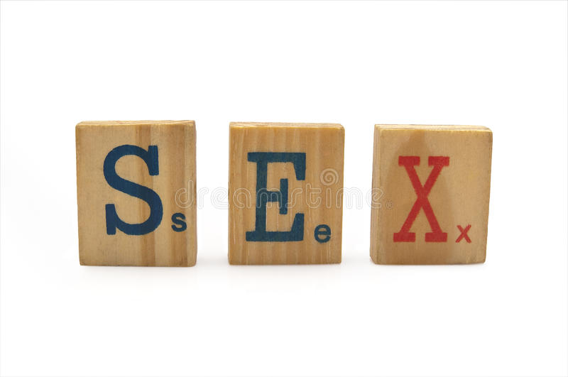 Download Word Sex Royalty Free Stock Photos - Image: 14366638