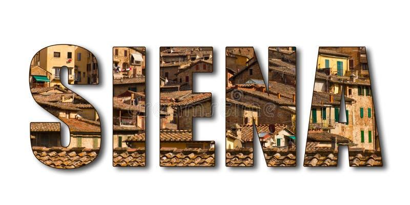 Word Siena Stock Photography