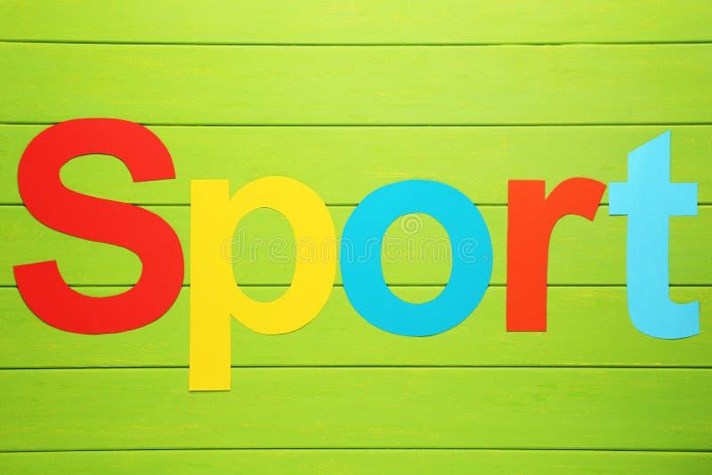 Word Sport stock photos