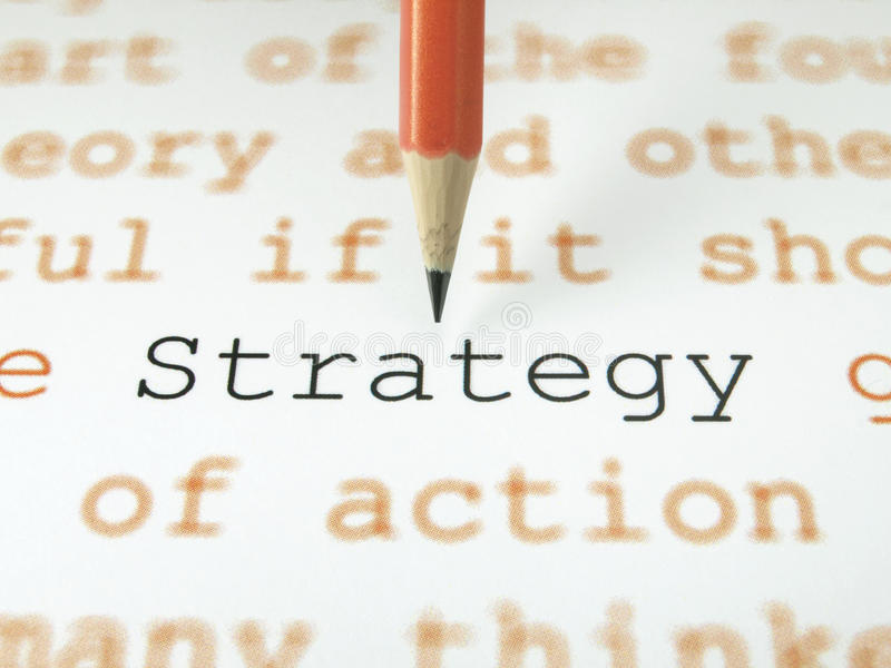 Download The word Strategy stock image. Image of message, organization - 22061925