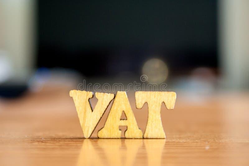 Word vat stock foto