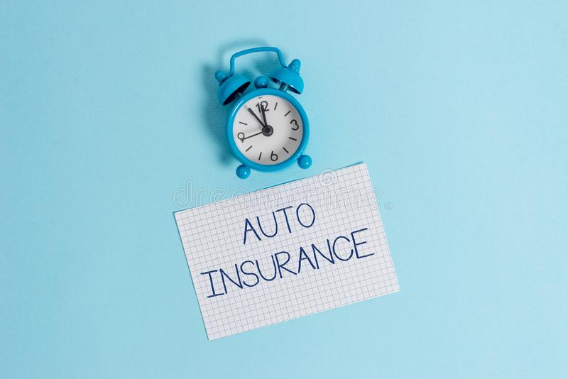Word writing text Auto Insurance. Business concept for Protection against financial loss in case of accident Vintage. Word writing text Auto Insurance. Business stock photo