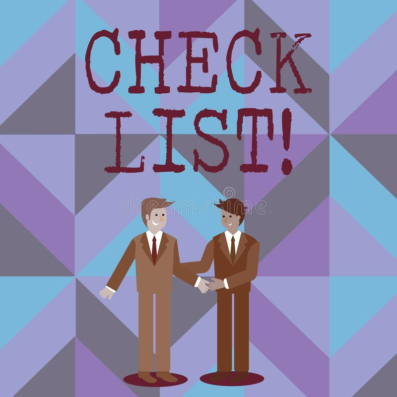 List Things Stock Illustrations – 1,142 List Things Stock