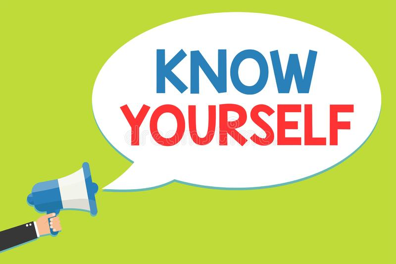 Know Yourself Stock Illustrations – 736 Know Yourself ...