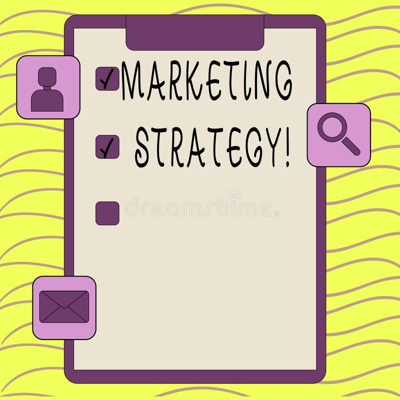 Word writing text Marketing Strategy. Business concept for Plan Formula Creativity Research Organization. Word writing text Marketing Strategy. Business photo stock photography