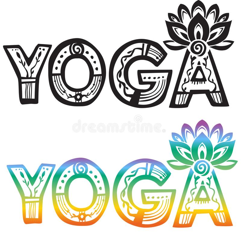 Word yoga with lotus flower stock vector illustration of yoga download word yoga with lotus flower stock vector illustration of yoga lotus 100636153 mightylinksfo Gallery