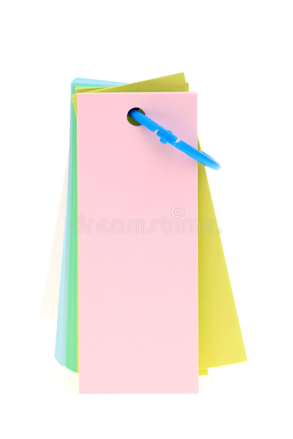 Wordbook coloré photographie stock