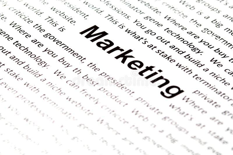 wording маркетинга стоковые фотографии rf