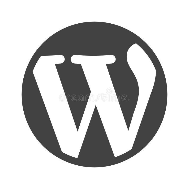 wordpress vektor abbildung