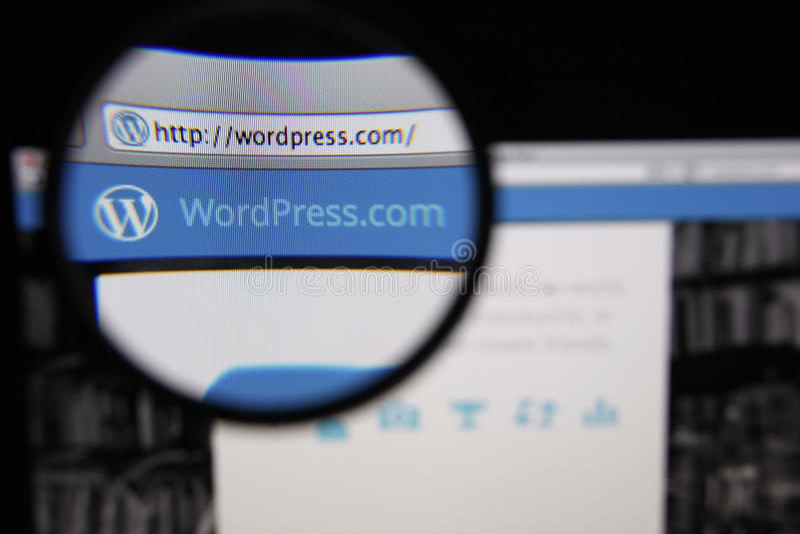 Download WordPress editorial stock photo. Image of screen, illustrative - 38836188